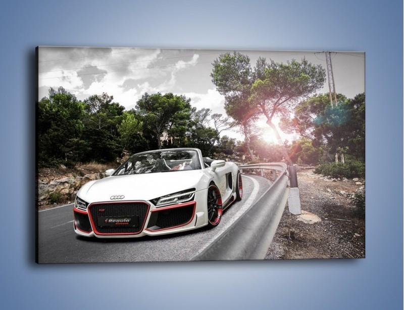Obraz na płótnie – Audi R8 V10 Spyder – jednoczęściowy prostokątny poziomy TM209