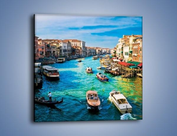 Obraz na płótnie – Najsłynniejsza cieśnina Wenecji – jednoczęściowy kwadratowy AM623