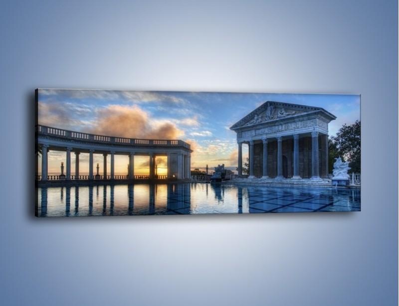Obraz na płótnie – Neptune pool w Kalifornii – jednoczęściowy panoramiczny AM320