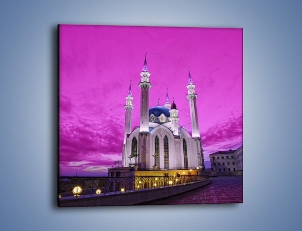 Obraz na płótnie – Meczet Kul Szarif – jednoczęściowy kwadratowy AM642