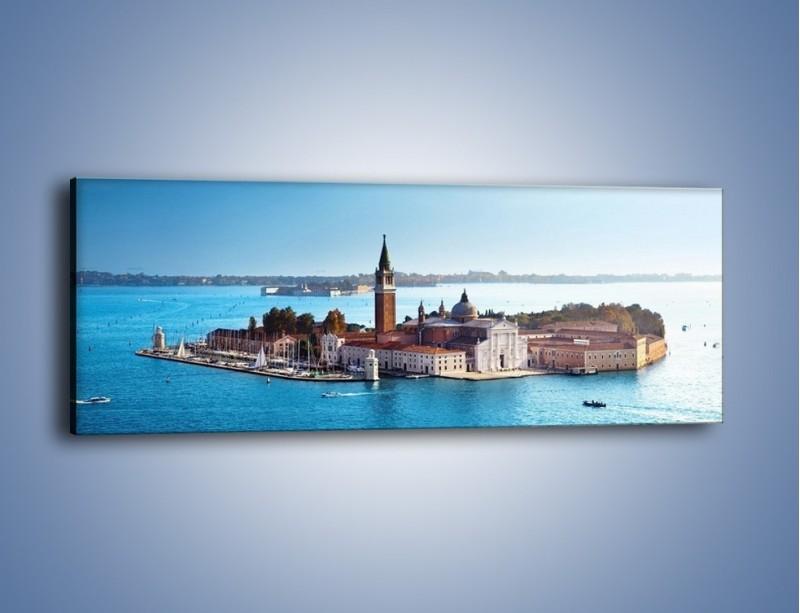 Obraz na płótnie – Wyspa San Giorgio Maggiore – jednoczęściowy panoramiczny AM380