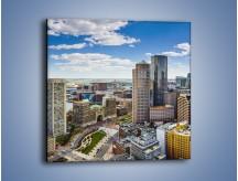 Obraz na płótnie – Boston w stanie Massachusetts – jednoczęściowy kwadratowy AM700