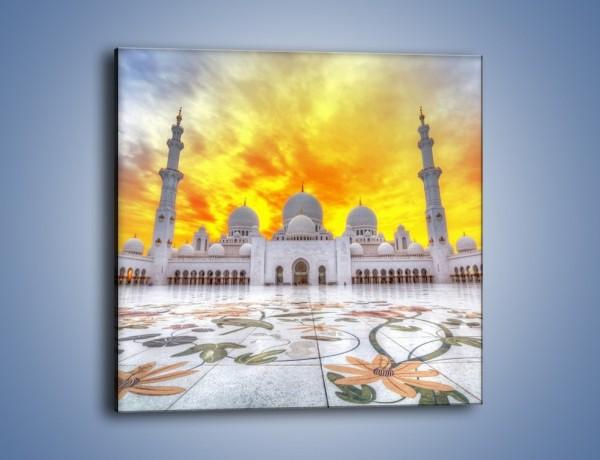 Obraz na płótnie – Meczet Szejka Zajida w Abu Zabi – jednoczęściowy kwadratowy AM706