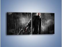 Obraz na płótnie – Brutalny męski świat – dwuczęściowy kwadratowy poziomy L105