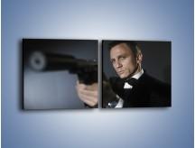 Obraz na płótnie – Bond. james bond – dwuczęściowy kwadratowy poziomy L239