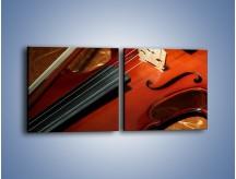 Obraz na płótnie – Instrument i muzyka poważna – dwuczęściowy kwadratowy poziomy O025
