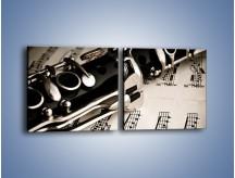 Obraz na płótnie – Egzamin z muzyki – dwuczęściowy kwadratowy poziomy O216
