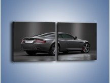 Obraz na płótnie – Aston Martin DB9 Coupe – dwuczęściowy kwadratowy poziomy TM059