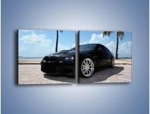 Obraz na płótnie – BMW M3 GTS – dwuczęściowy kwadratowy poziomy TM095