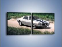 Obraz na płótnie – Chevrolet Camaro 1976 – dwuczęściowy kwadratowy poziomy TM105