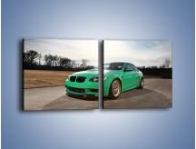 Obraz na płótnie – BMW E92 M3 Tuning – dwuczęściowy kwadratowy poziomy TM108
