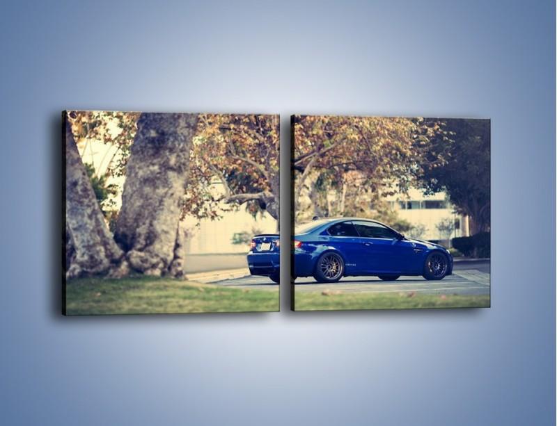 Obraz na płótnie – BMW M3 Coupe E95 – dwuczęściowy kwadratowy poziomy TM114