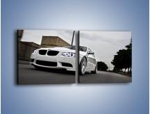 Obraz na płótnie – BMW M3 E92 Tuning – dwuczęściowy kwadratowy poziomy TM122