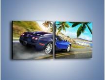 Obraz na płótnie – Bugatti Veyron – dwuczęściowy kwadratowy poziomy TM123