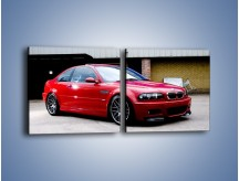 Obraz na płótnie – BMW M3 E46 Coupe – dwuczęściowy kwadratowy poziomy TM125