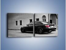 Obraz na płótnie – BMW M5 E63 – dwuczęściowy kwadratowy poziomy TM135