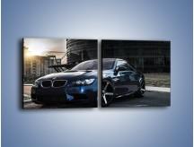 Obraz na płótnie – BMW E92 M3 – dwuczęściowy kwadratowy poziomy TM213