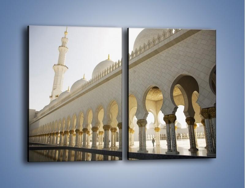 Obraz na płótnie – Bliskowschodnia architektura – dwuczęściowy prostokątny pionowy AM177
