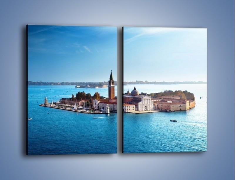 Obraz na płótnie – Wyspa San Giorgio Maggiore – dwuczęściowy prostokątny pionowy AM380