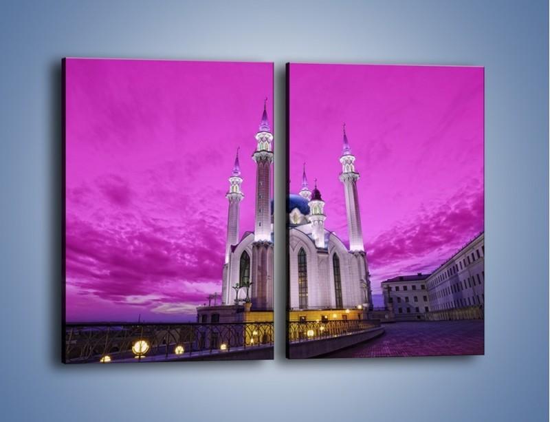 Obraz na płótnie – Meczet Kul Szarif – dwuczęściowy prostokątny pionowy AM642