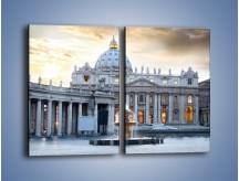 Obraz na płótnie – Bazylika św. Piotra w Watykanie – dwuczęściowy prostokątny pionowy AM722