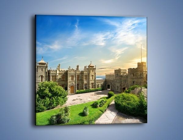 Obraz na płótnie – Pałac Woroncowa w Ałupce – jednoczęściowy kwadratowy AM747