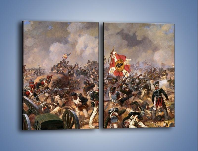 Obraz na płótnie – Wojna i jej skutki – dwuczęściowy prostokątny pionowy GR133
