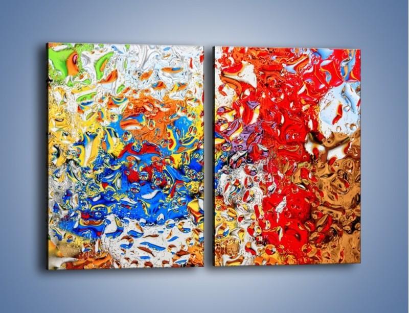 Obraz na płótnie – Każdy kolor coś znaczy – dwuczęściowy prostokątny pionowy GR407