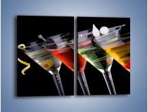 Obraz na płótnie – Alkoholowa zabawa do rana – dwuczęściowy prostokątny pionowy JN100