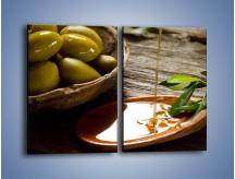 Obraz na płótnie – Bogactwa wydobyte z oliwek – dwuczęściowy prostokątny pionowy JN270