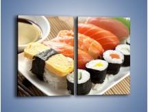 Obraz na płótnie – Azjatyckie posiłki – dwuczęściowy prostokątny pionowy JN355