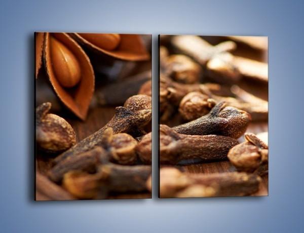 Obraz na płótnie – Dodatki idealne do kawy – dwuczęściowy prostokątny pionowy JN379