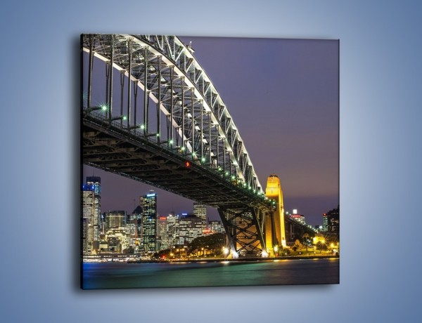 Obraz na płótnie – Sydney Harbour Bridge – jednoczęściowy kwadratowy AM803