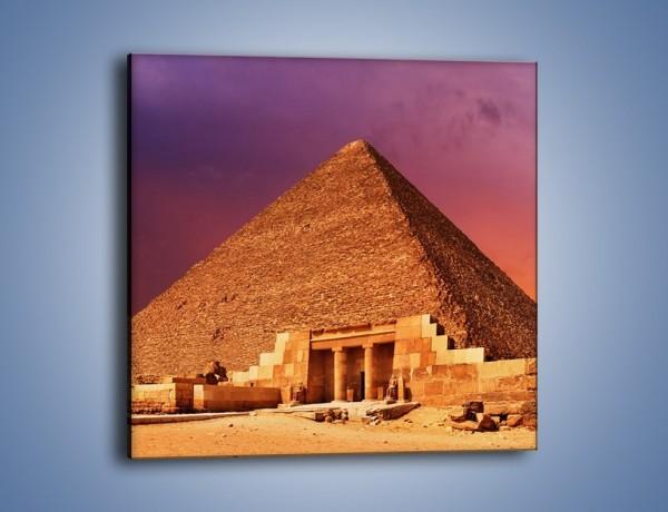 Obraz na płótnie – Piramida w Egipcie – jednoczęściowy kwadratowy AM812