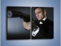 Obraz na płótnie – Bond. james bond – dwuczęściowy prostokątny pionowy L239