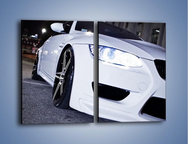 Obraz na płótnie – BMW E92 M3 Coupe – dwuczęściowy prostokątny pionowy TM089