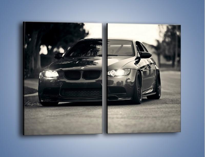 Obraz na płótnie – BMW M3 – dwuczęściowy prostokątny pionowy TM092