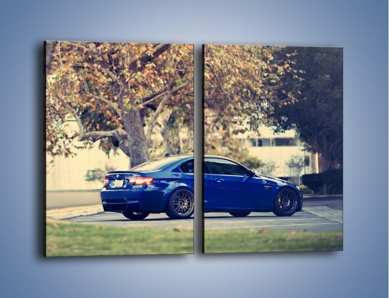 Obraz na płótnie – BMW M3 Coupe E96 – dwuczęściowy prostokątny pionowy TM114