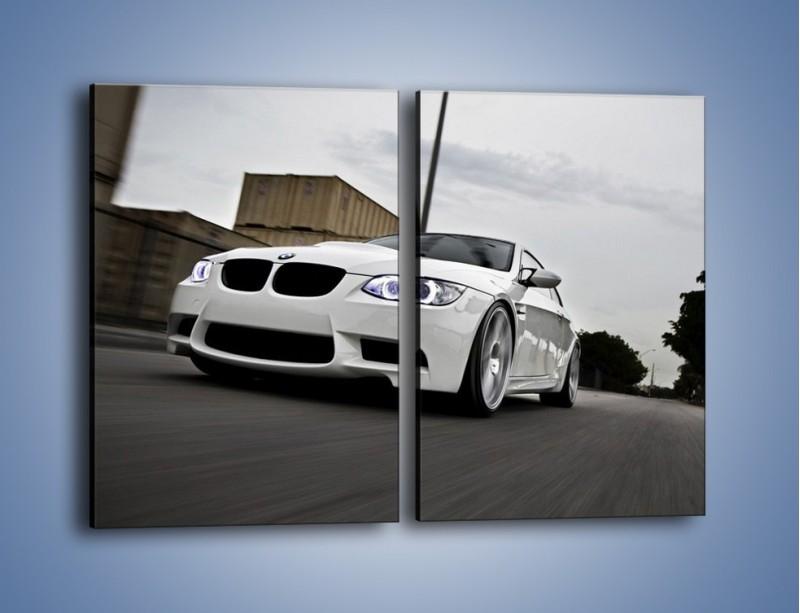 Obraz na płótnie – BMW M3 E92 Tuning – dwuczęściowy prostokątny pionowy TM122