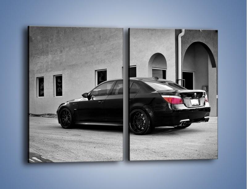 Obraz na płótnie – BMW M5 E64 – dwuczęściowy prostokątny pionowy TM135