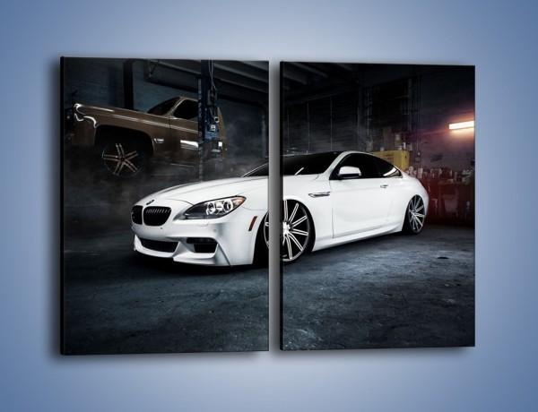 Obraz na płótnie – BMW M6 F13 Vossen Wheels – dwuczęściowy prostokątny pionowy TM169
