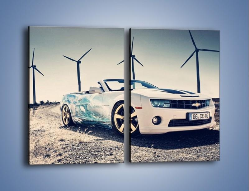 Obraz na płótnie – Chevrolet Camaro Cabrio – dwuczęściowy prostokątny pionowy TM173