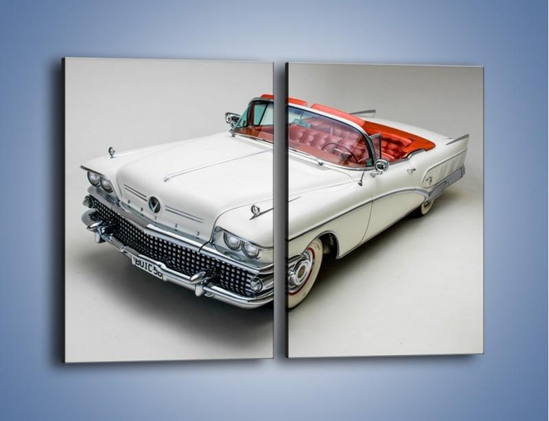 Obraz na płótnie – Buick 1958 Limited Convertible – dwuczęściowy prostokątny pionowy TM185