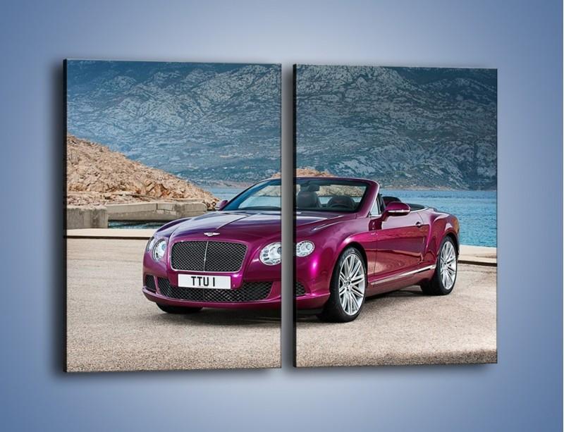 Obraz na płótnie – Bentley Continental Speed GT – dwuczęściowy prostokątny pionowy TM187