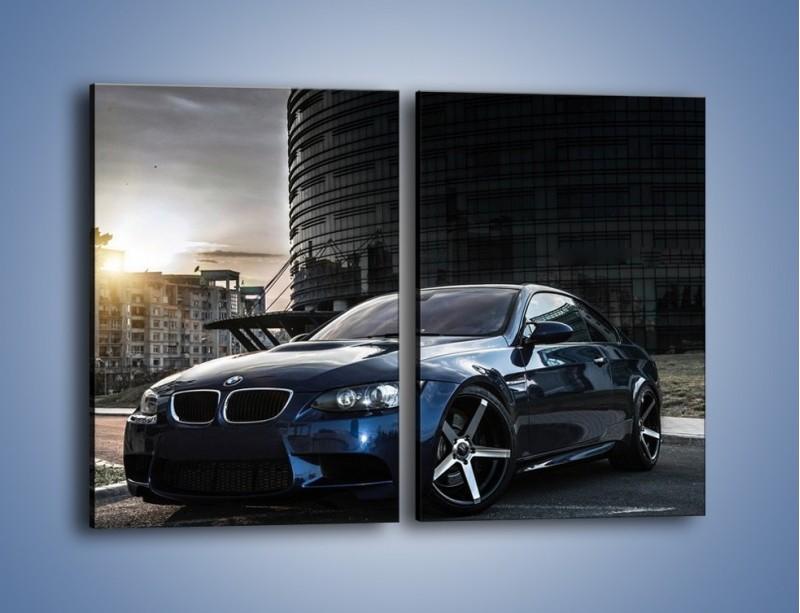 Obraz na płótnie – BMW E92 M3 – dwuczęściowy prostokątny pionowy TM213