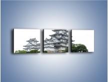 Obraz na płótnie – Azjatycka architektura – trzyczęściowy AM181W1