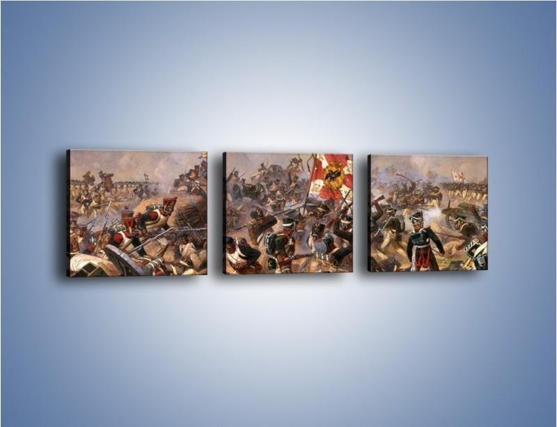 Obraz na płótnie – Wojna i jej skutki – trzyczęściowy GR133W1