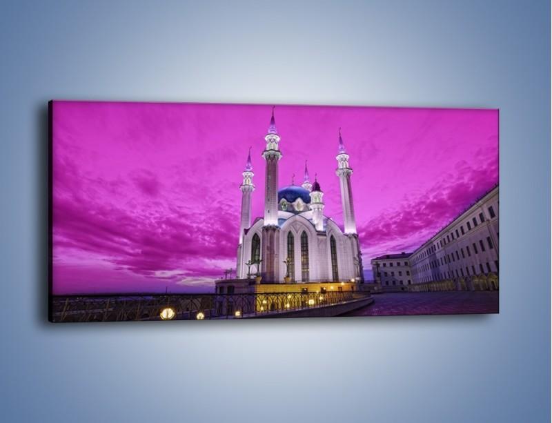 Obraz na płótnie – Meczet Kul Szarif – jednoczęściowy panoramiczny AM642