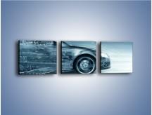 Obraz na płótnie – Auto z prędkością światła – trzyczęściowy GR264W1