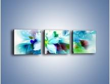 Obraz na płótnie – Kwiat i jego magia – trzyczęściowy GR348W1